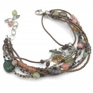 B2090 Retired Silpada Mixed Material Bracelet